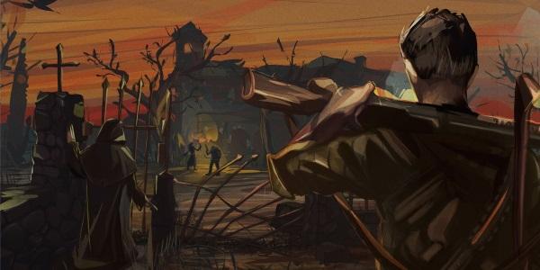 Зомби-хоррор и пошаговые бои в ролевой игре Sine Requie: Snake Eyes