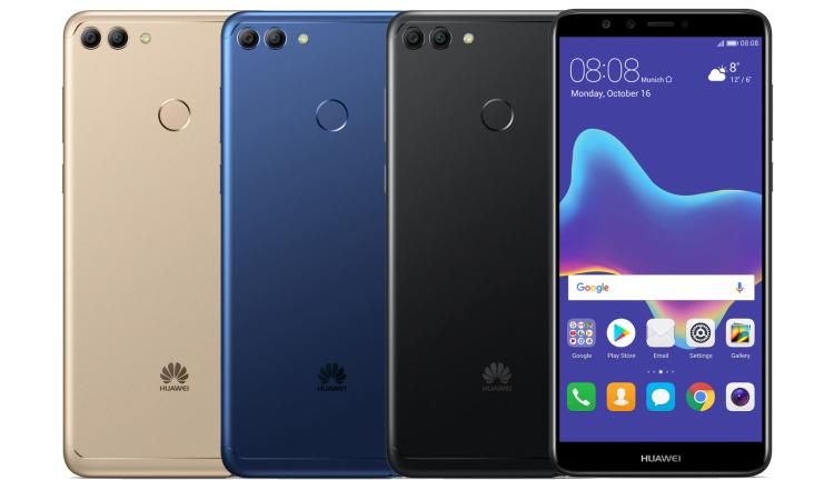 Представлен новый смартфон Huawei Y9 (2018)
