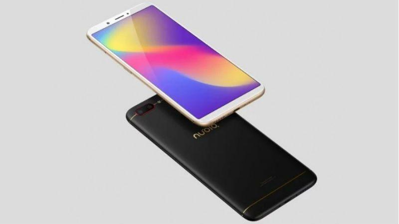 ZTE представила смартфон Nubia N3 с экраном 18:9 и большим аккумулятором