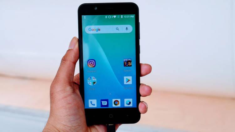 Начались продажи бюджетного смартфона ZTE Tempo Go с Android 8.1 Go
