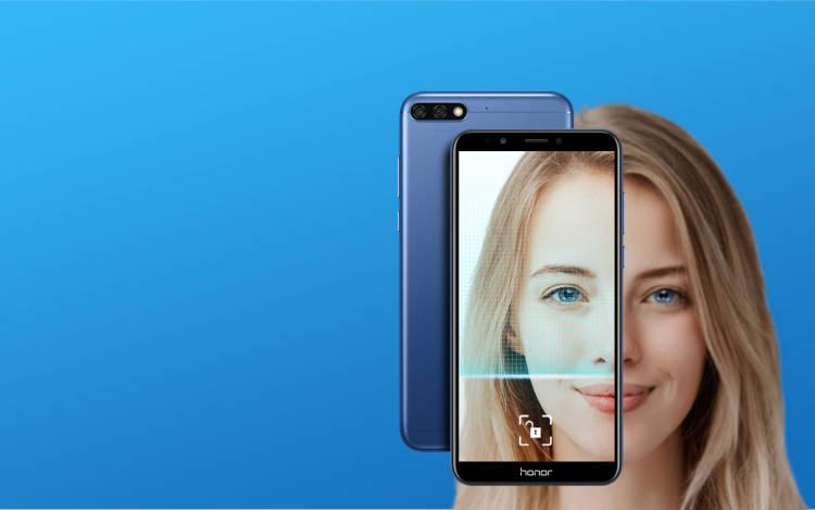 Сканер лица в бюджетных смартфонах Honor работает быстрее Face ID