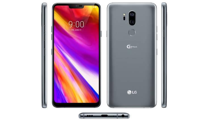 Таким будет дисплей в новом флагмане LG G7 ThinQ