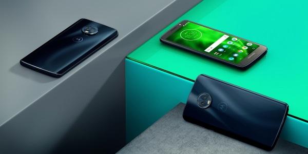 Lenovo представила бюджетные смартфоны Moto G6 и Moto E5