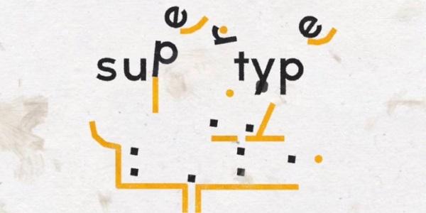 На iOS вышла оригинальная головоломка Supertype
