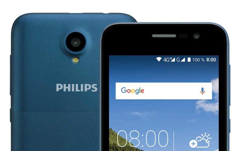 Philips представила новый доступный смартфон S257 с поддержкой 4G