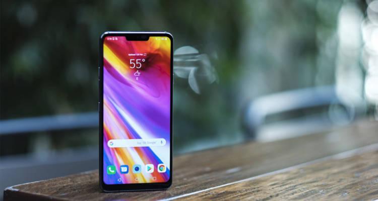 LG официально представила смартфон G7 ThinQ с вырезом в дисплее