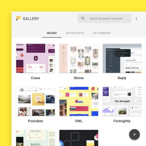Material Gallery - новое приложение от Google для дизайнеров и разработчиков интерфейсов