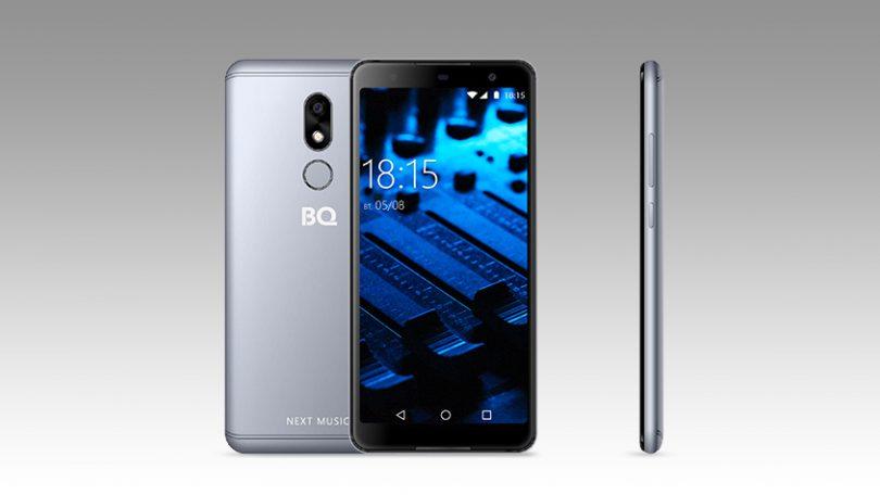 Бренд BQ представил музыкальный смартфон BQ 5707G Next Music