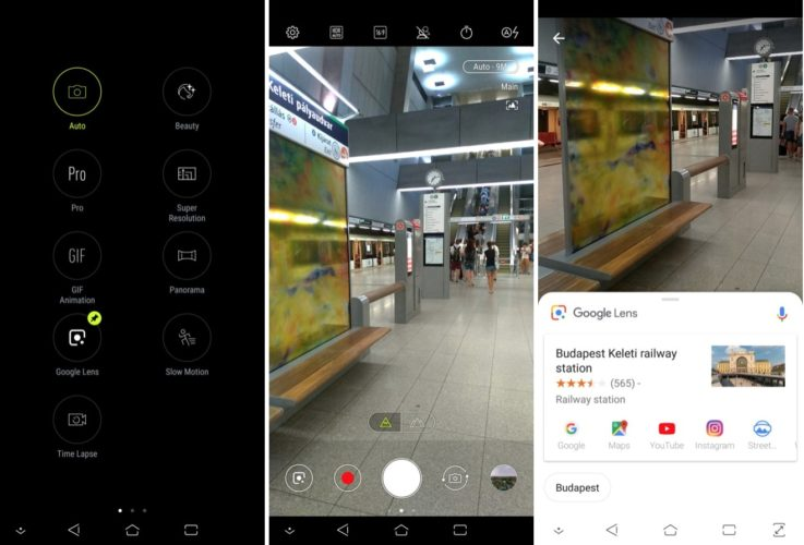 Asus добавляет поддержку Google Lens в свои смартфоны