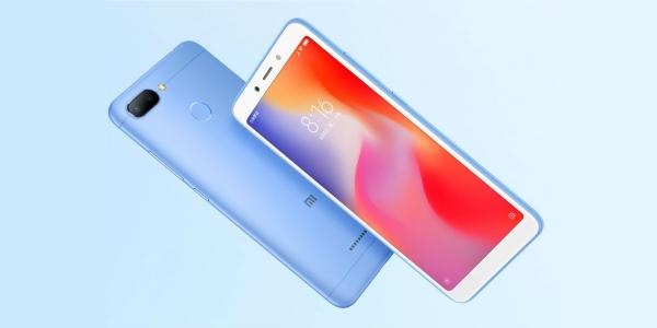 Xiaomi представила ультрабюджетные смартфоны Redmi 6 и Redmi 6A