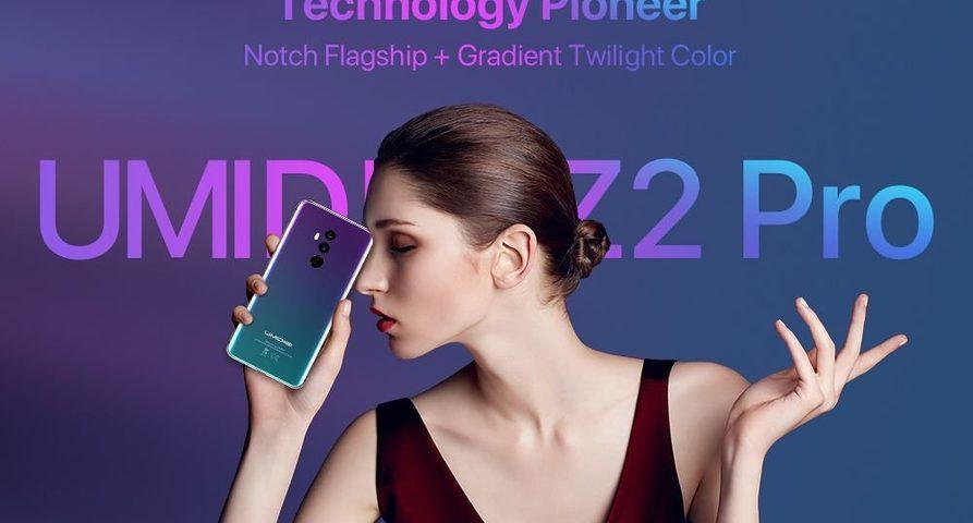 Смартфон Z2 Pro— новый флагман от UMIDIGI