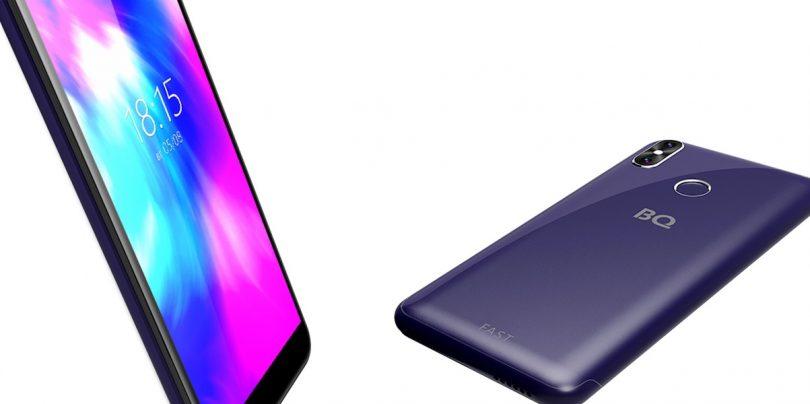 BQ представила бюджетный смартфон 5515LFast с двойной камерой