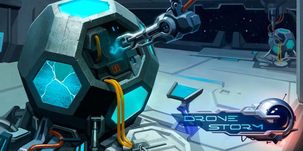 Развлекательная аркада Drone Storm о спасении галактики выходит на iOS и Android