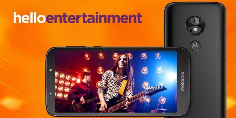 Анонсирован бюджетный смартфон Moto E5Play сAndroid GoEdition