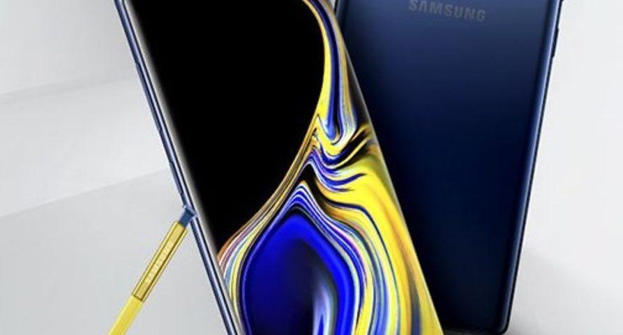 Новые фото и характеристики смартфона Samsung Galaxy Note 9