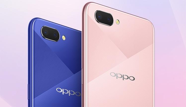 Oppo представила безрамочный смартфон A5 с двойной камерой