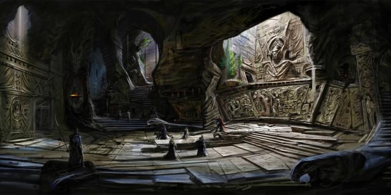Игровой ролик The Elder Scrolls: Blades с QuakeCon 2018