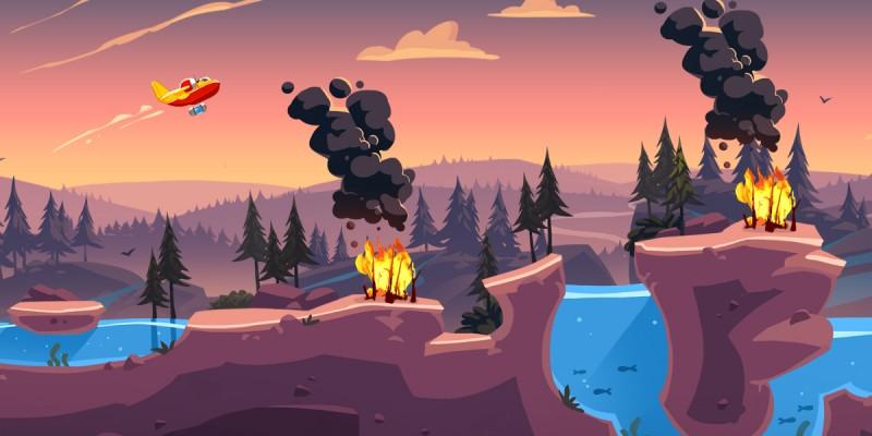 Fire Flush: анонс веселой игры о тушении лесных пожаров