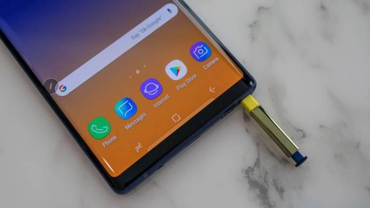 Обои Samsung Galaxy Note 9 стали доступны всем желающим