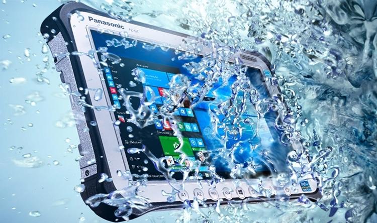 Panasonic выпустила защищенный планшет Toughbook FZ-G1