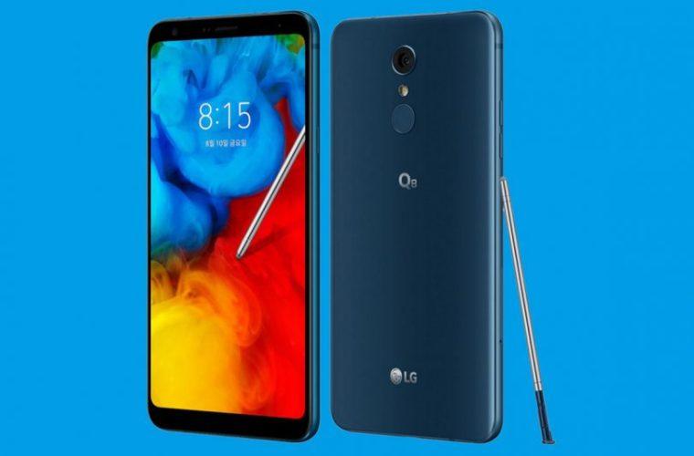 LG выпустила смартфон Q8 (2018) с дисплеем FullVision и электронным пером