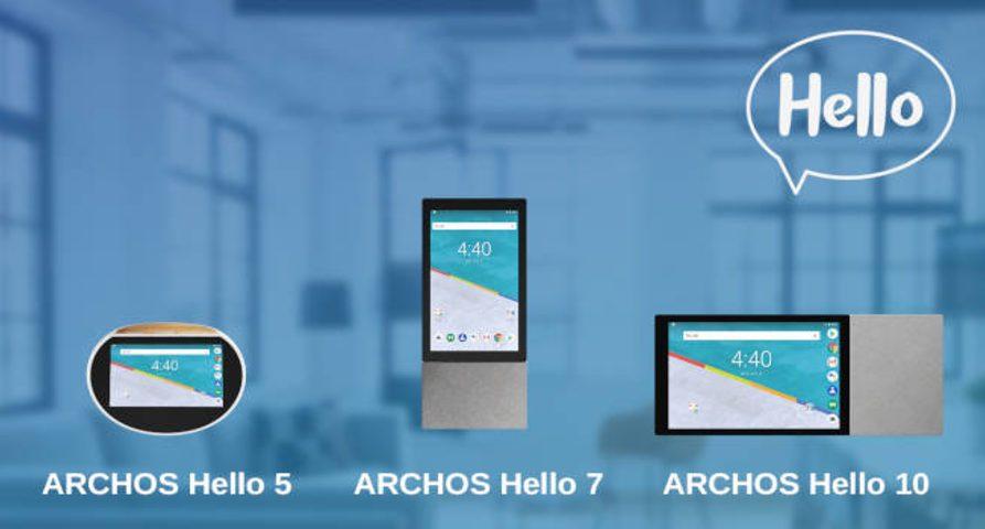 Archos Hello- линейка умной акустики с поддержкой Google Assistant