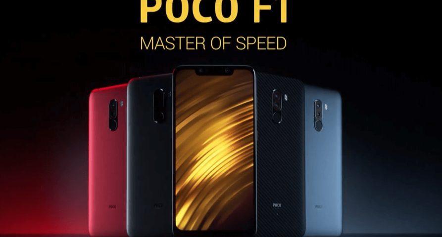 Смартфон POCO F1 от Xiaomi поступил в продажу