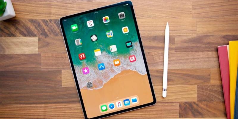 Концепт нового iPad Pro 12.9 с минимальными рамками и без кнопки Home