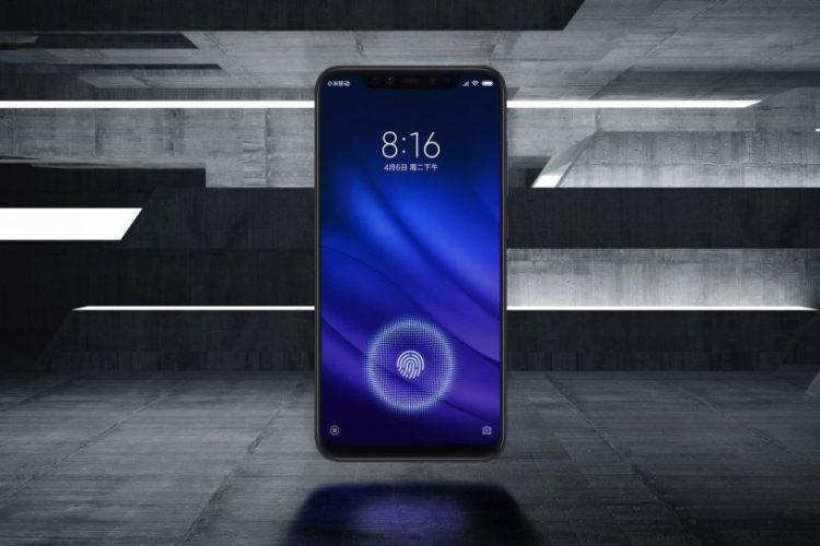 Xiaomi представила флагман Mi8Pro со встроенным в экран сканером отпечатков пальцев