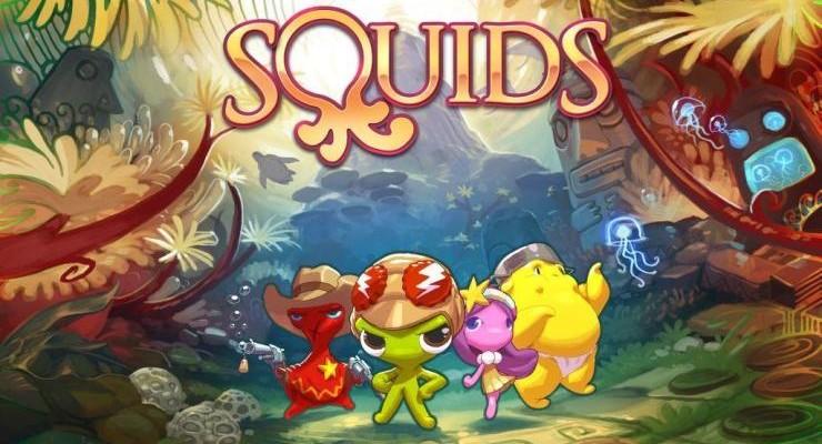 Squids Odyssey: красочное RPG-приключение дебютируют на Android и iOS