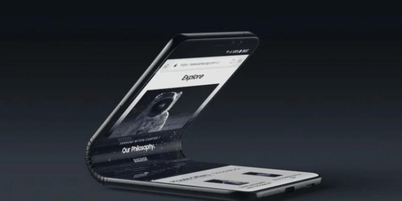 Сгибаемый смартфон Samsung может получить название Inifinity-V