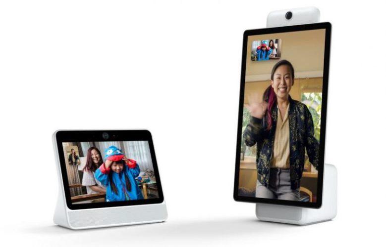 Facebook представила «умные» экраны Portal для видеосвязи