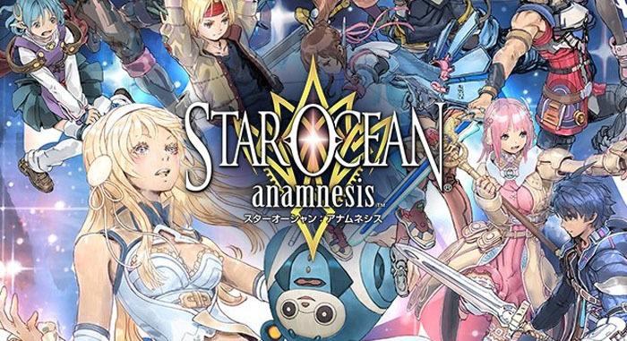 Состоялся глобальный релиз Star Ocean: Anamnesis с героем из NieR: Automata