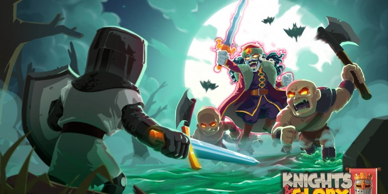 За предзаказ бесплатной стратегии Knights & Glory в App Store можно получить награды