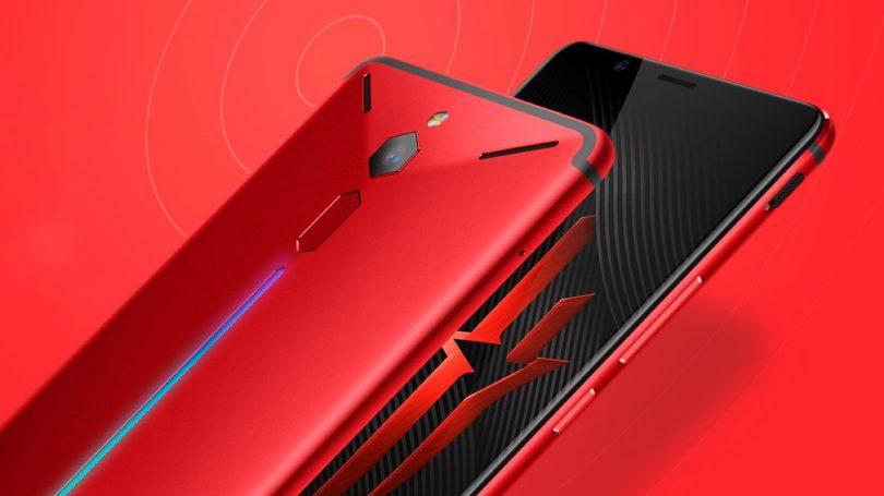 Nubia представила новый игровой смартфон Red Devil