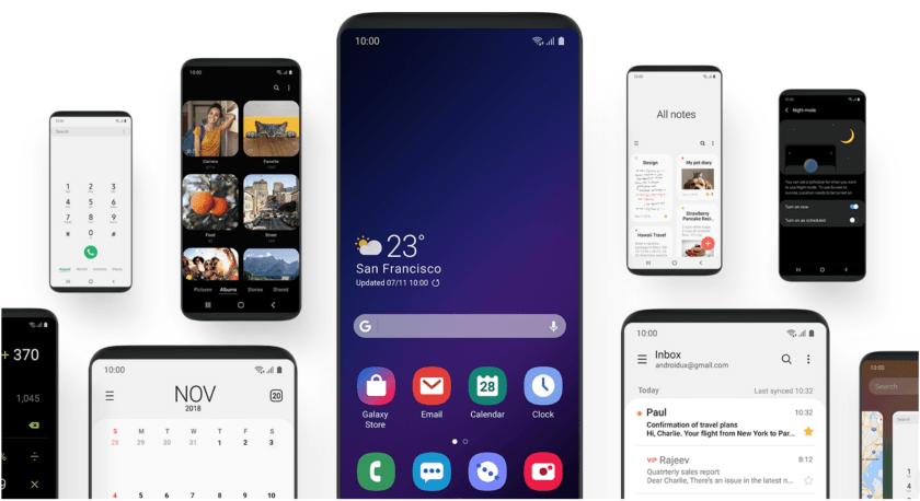 Бета-версия фирменной оболочки OneUI стала доступна для Galaxy S9 иGalaxy S9 Plus