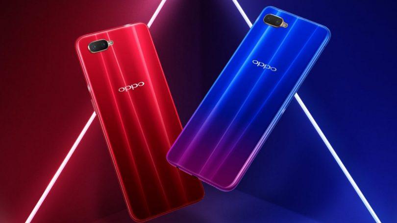 Oppo представила смартфон R17Neo сподэкранным сканером и процессором Snapdragon 660