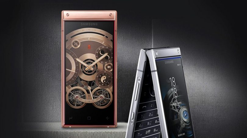 Официально представлена флагманская «раскладушка» Samsung W2019
