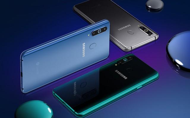 Samsung Galaxy A8s - первый смартфон с вырезом для камеры в дисплее