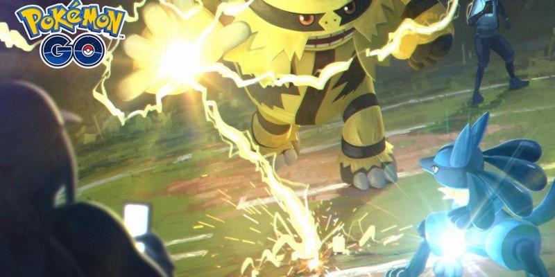 В Pokemon Go добавлена поддержка PvP-битв