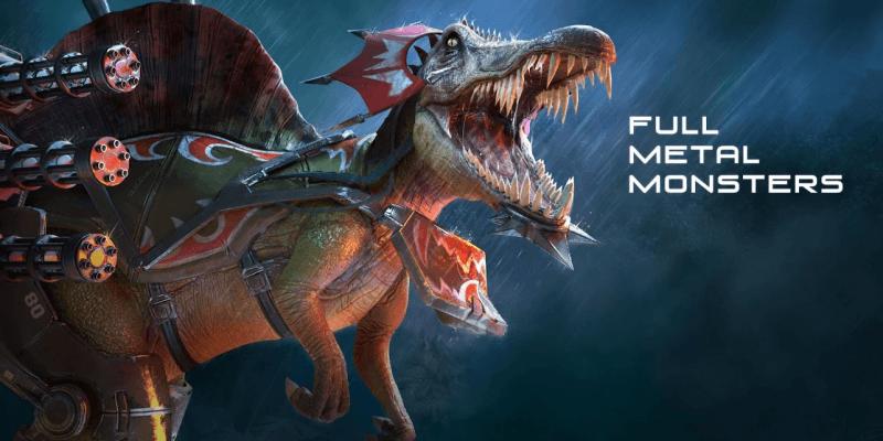 Full Metal Monsters с PvP на механизированных динозаврах вышла в Google Play