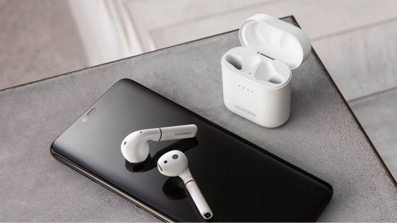 Huawei представила компактные беспроводные наушники FreeBuds 2Pro