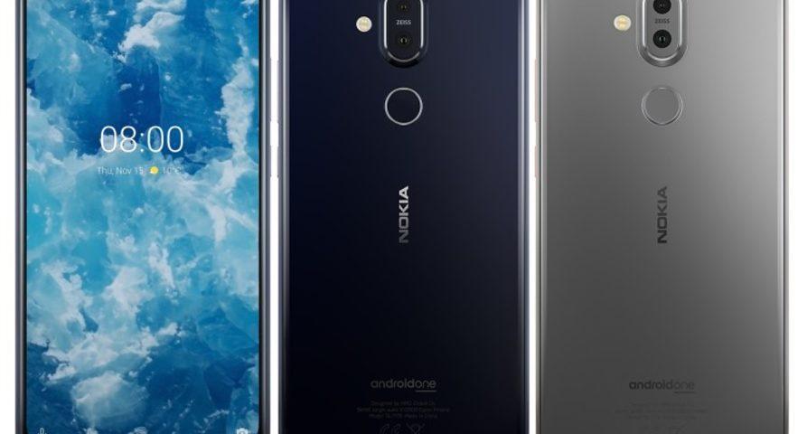 Смартфон Nokia 8.1 представлен официально