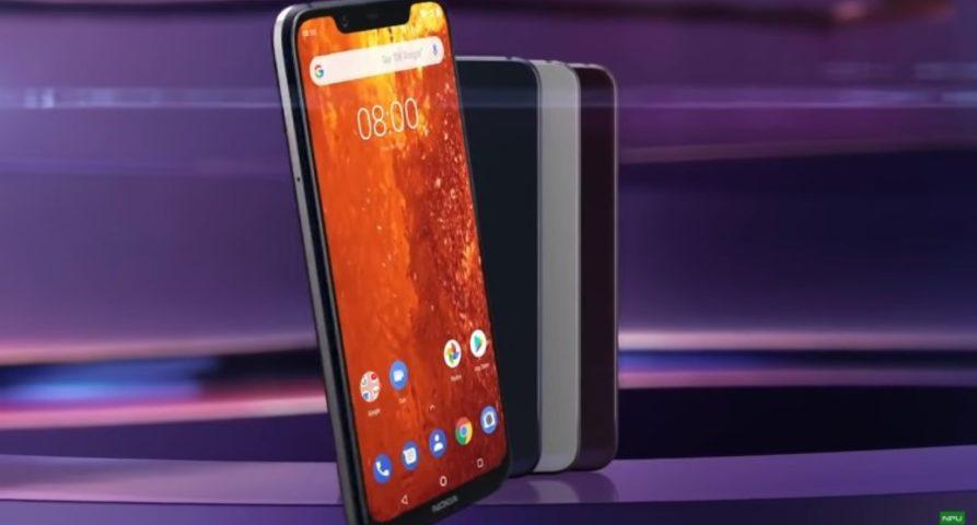 Опубликовано официальное видео Nokia 8.1 перед анонсом