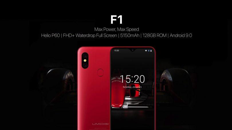 Представлен смартфон UMIDIGI F1 с процессором Helio P60 и модулем NFC за$220