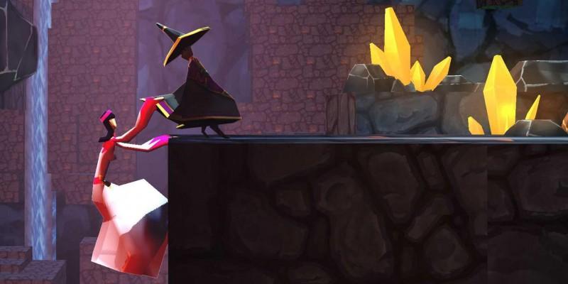 На iOS вышла трехмерная головоломкаRoterra - Flip the Fairytale