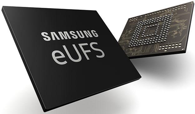 Смартфоны Samsung получат терабайт встроенной памяти