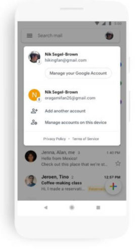 Приложение Gmail получило масштабное обновление интерфейса