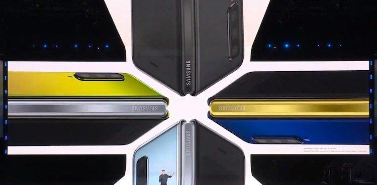 Складной смартфон Samsung Galaxy Fold представлен официально