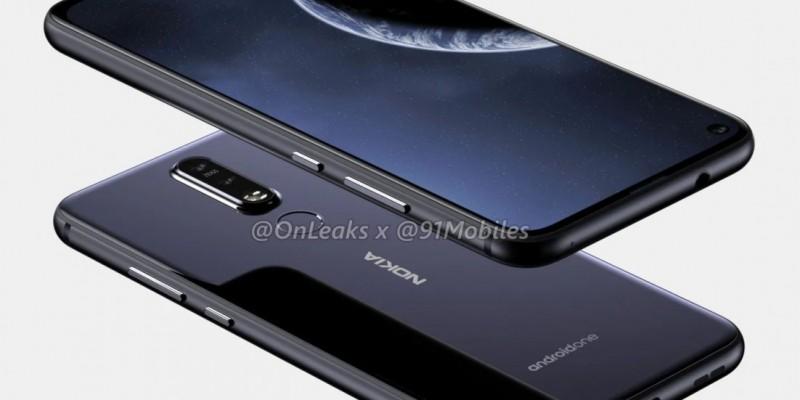 Nokia 8.1 Plus с камерой в дисплее будет представлен 2 апреля